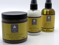 Cactus and Ivy's Spring body skin care line