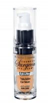 cosmetic surgeon in a jar eyelifter serum