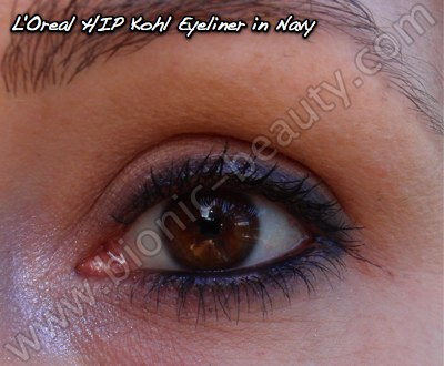 L'Oreal HIP Kohl Eyeliner review at Bionic Beauty