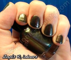 Zoya nail polish in Ki - Indoors with flash
