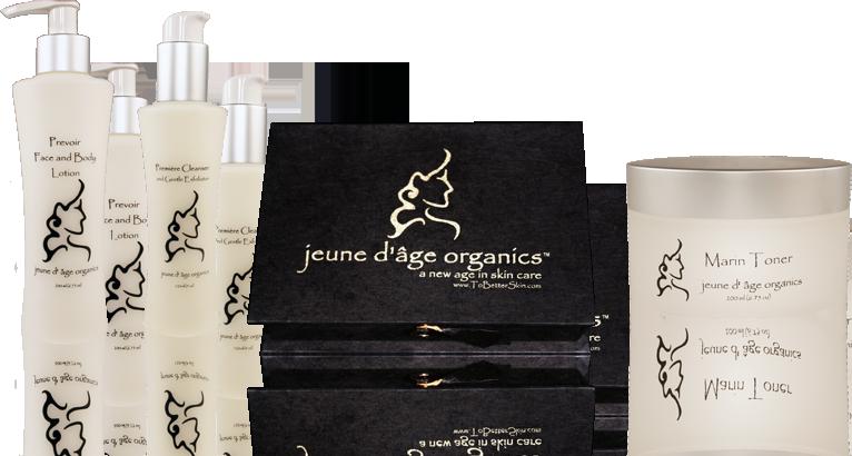 Jeune D'age Organic Skin Care
