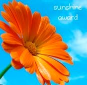 The Bionic Beauty blog - Sunshine Blog Award Winner!