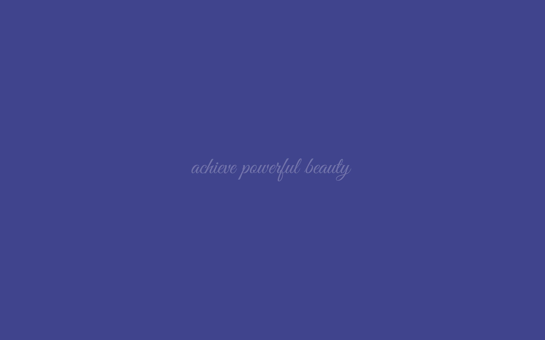 Powerful Beauty Wallpaper In Pantone Royal Blue