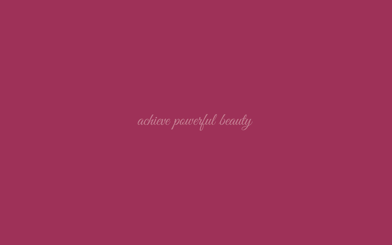 Powerful Beauty Wallpaper In Pantone Sangria Bionic Beauty