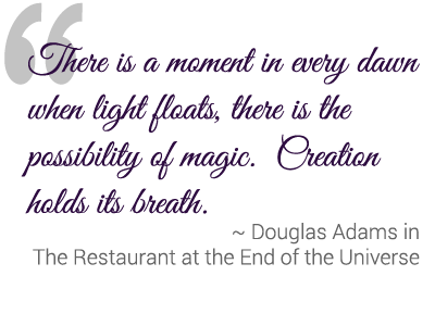 Quote by Douglas Adams from The Restaurant at the End of the Universe