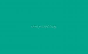 Powerful Beauty wallpaper in Emerald