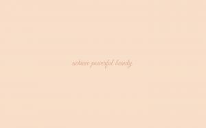 Powerful Beauty wallpaper in Linen