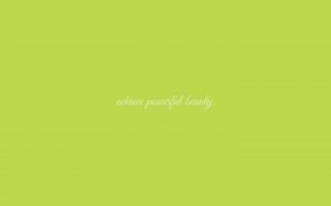 Powerful Beauty wallpaper in Tender Shoots