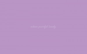 Powerful Beauty wallpaper in Pantone African Violet